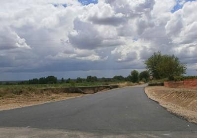 Adecuación del Entronque de la Carretera de Huelaga